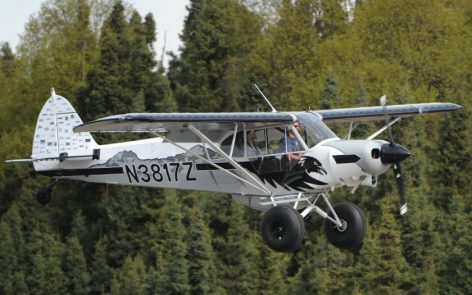 Builders of the 2016 Alaska Airmen Super Cub Raffle Plane