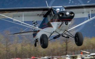 The Alaska Airmen's Association's 2017 Super Cub Raffle Plane at Valdez